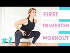 Pregnancy Workout First Trimester - Prenatal HIIT Exercises (At Home, Beginner Friendly) - YouTub Pregnancy Exercise First Trimester, Exercise During Pregnancy, Trimesters Of Pregnancy, Pregnancy Workout, Pregnancy Classes, Symptoms Pregnancy, Pregnancy Acne, Funny Pregnancy, Pregnancy Guide