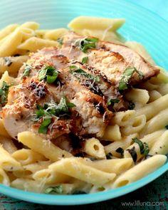 Lemon Chicken Pasta recipe - a new family favorite!