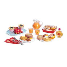 Delicious breakfast set for Gianna's Dolly