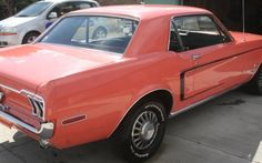 Color of the Month: 1968 Ford Mustang - http://barnfinds.com/color-of-the-month-1968-ford-mustang/