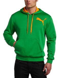 PUMA Men's Polyester Fleece Pullover Hoodie « Clothing Impulse