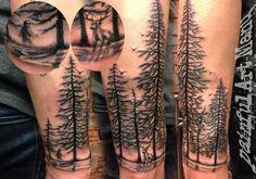 #pinetree #blackandgrey #painful #art