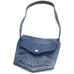Tutorial - How to make a pocket bag from your old jeans