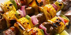 Break out of your shell with our Steak Tacos On A Stick! All the good stuff together on one stick. Steak Dinner Recipes, Grilling Recipes, Beef Recipes, Cooking Recipes, Steak Tacos, Ways To Cook Steak, Skewer Recipes, Easter Dinner, Steaks
