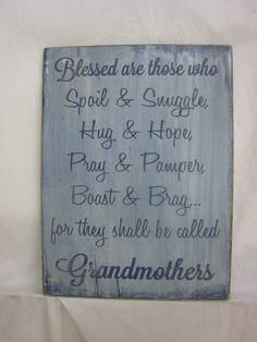 Rustic Grandma / Nana Sign. Makes a Great Gift by ExpressionsNmore, $39.95