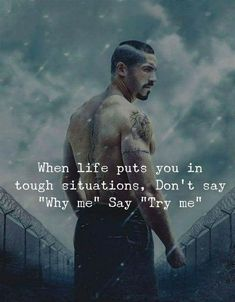 Try me. success quotes Best Words of Encouragement for Hard Times Motivacional Quotes, Joker Quotes, Great Quotes, Words Quotes, Sayings, Bring It On Quotes, Qoutes, Frases Rastafari, Strong Quotes
