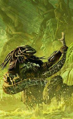 Predator vs. Snake