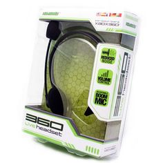 KMD Xbox 360 Live Gaming Headset with Mic  Black *** To view further for this item, visit the image link.