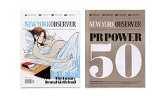 Redesign of the New York Observer: Cover