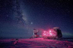 The cold, dry climate of #Antarctica is perfect for astronomy, say scientists.