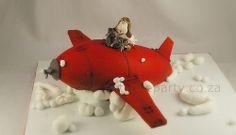 Janco's aeroplane cake