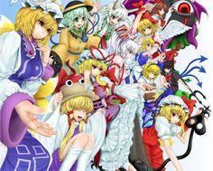 alice_margatroid alice_margatroid_(pc-98) evil_eye_sigma ex-keine flandre_scarlet fujiwara_no_mokou gengetsu houjuu_nue kamishirasawa_keine komeiji_koishi miyakouji mugetsu mugetsu_(touhou) rika_(touhou) touhou touhou_(pc-98) yakumo_ran yakumo_yukari