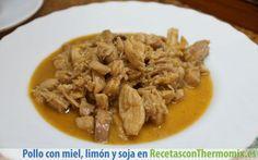 Pollo con miel, limón y soja Thermomix