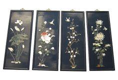 "Chinese Lacquer Panels  -  30""L x 11""W x 30""H  -  OneKingsLane.com  -  ($595.00)  $395.00"