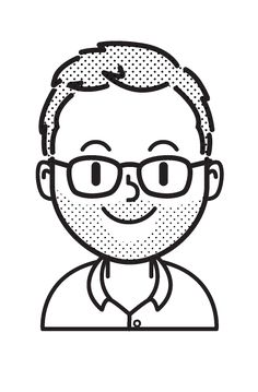 A fun little personal project I did. I tried to accurately portray my coworkers by using only lines and dots. Flat Design Illustration, Simple Illustration, Digital Illustration, Doodle People, Simple Cartoon, Stick Figures, Manga Drawing, Blue Design, Cartoon Drawings