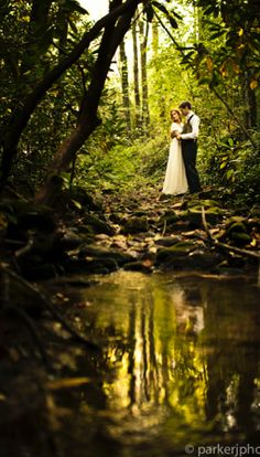 Black Mountain Sanctuary: A wedding venue with the ultimate nature setting! | 80 High Top Colony Road, Black Mountain, NC 28711 | (828) 669-8055