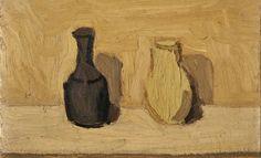 236. Morlotti, Ennio - 1941 - Natura morta con bottiglie