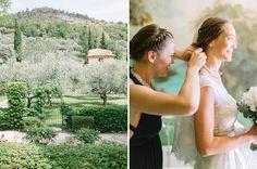 Bridal preparation - Domaine de la Baume - Wedding and Lifestyle Photographer