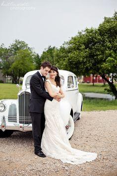 Frisco Heritage Center Wedding with vintage car | Kaitlin Scott photography | Charleston photographer