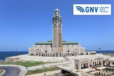Great #Mosque #Hassan_II in #Casablanca, #Morocco. Discover #GNV routes from/to#Maghreb here: www.gnv.it/en/
