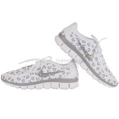 NEW Women s Nike Free 5.0 v4 White~Wolf Gray~Pure Platinum Cheetah Leopard b811ba472