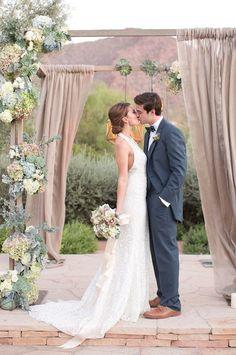 Wedding ceremony idea; Featured Photographer: Amy and Jordan Photography