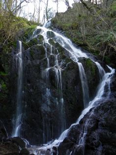 Cascada de Esquios (Taramundi) Asturias, Spain