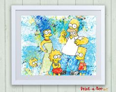 - The Simpsons - by Nicole Fischer on Etsy