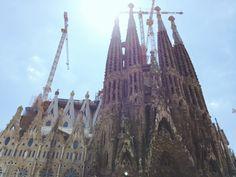 Sagrada Família, Barcelona #nsptravels Travel Pictures, Monument Valley, Barcelona, Around The Worlds, Photo And Video, Nature, Instagram, Sagrada Familia, Travel Photos