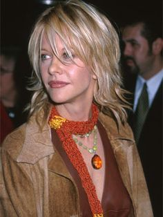 Meg Ryan looks lovely in layers. I need to remember I would hate having hair in my face...