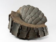 Untitled MV-1015, 2010  Stoneware with iron-filings  16 1/7 x 27 1/4 x 19 3/4 inches  Inv# 6880  SOLD