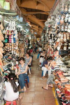 Ho Chi Minh City - Vietnam. Ben Thanh Market.