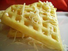Gauffre cu cascaval Waffles, Chicken, Breakfast, Food, Author, Salads, Morning Coffee, Eten, Waffle