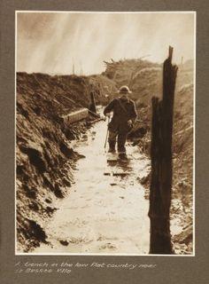 """""""having got a bit muddier"""" - litotes Edmund Blunden"""