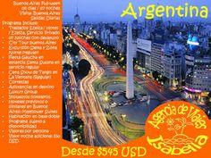 COMPRA AHORA TU PRÓXIMO VIAJE A ARGENTINA ONLINE ! Desde hoy puedes comprar por Internet tu viaje a Argentina con Agencia de Viajes Isabella Chile Para reservas y pagos online se aceptan: * Tarjetas de Crédito: VISA - MASTERCARD - DINERS - MAGNA - CMR FALABELLA - PRESTO LIDER - AMERICAN EXPRESS * Tarjeta de Débito: REDCOMPRA WEBPAY * Transferencia Bancaria: KHIPU * Efectivo: SUCURSALES SERVIPAG * Valor de compra en peso chileno