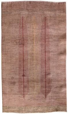 Persian-Gabbeh-Rug    Size: 310 x 55    Hand-knotted in Persia