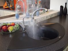 Great shot of the Quooker in full flight at Vale Kitchens in Evesham.