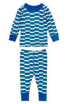 MASALABABY 'Leroy' Organic Cotton Long SleevePajamas (Baby Boys) available at #Nordstrom