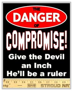 do not compromise scripture
