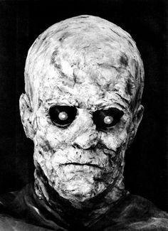 Photos from a Monster make-up handbook by Dick Smith published in 1965 as a one off Famous Monsters Of Filmland magazine.