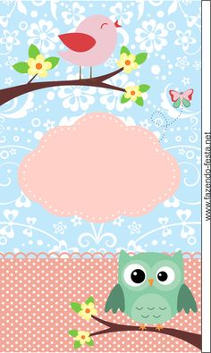 New Baby Shower Invitaciones Buhos Ideas Binder Covers, Owl Art, Note Paper, Cute Owl, Cute Wallpapers, Scrapbook Paper, Scrapbooking, Gift Tags, Free Printables