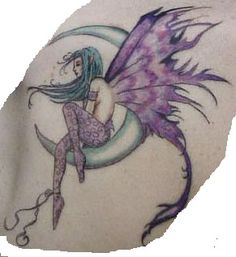 Fairy Tattoo | ... fairy tattoo and can remind you of childhood innocence and happiness