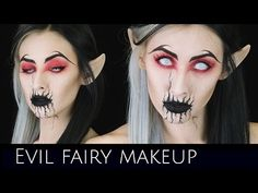 Evil Fairy Makeup Tutorial | Collaboration with Bloodshedbeauty .x | Cou...