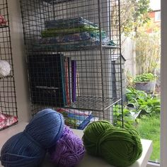 I love the view from my studio window. Home Appliances, Rooms, Windows, Studio, My Love, Garden, Outdoor, Instagram, House Appliances