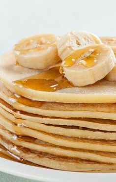 Low FODMAP and Gluten Free Recipe - Banana Pancakes - http://www.ibssano.com/low_fodmap_recipe_banana_pancakes.html