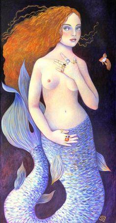 Isabelle Bryer. French artist.