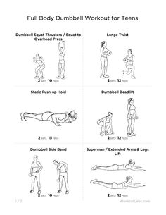 101 best printable workouts images  exercise routines