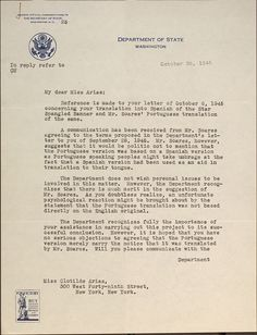 """In 1945, the U.S. State Department needed a Spanish translation of """"The Star-Spangled Banner"""" that could be sung--not an easy job. Peruvian immigrant Clotilde Arias was up to the task. #clotilde"""