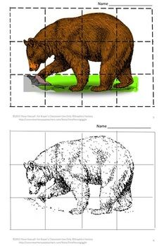 Zoo Animal Puzzles, Cut and Paste, Cut and Paste Puzzles, Printables, Special Education Early Childh Animal Activities For Kids, Cutting Activities, Cut And Paste Worksheets, Worksheets For Kids, Kindergarten Special Education, In Kindergarten, Animal Puzzle, Animal Tracks, Zoo Animals