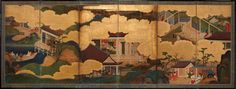 Six scenes from 'The Tale of Genji'(2): Tosa School (1700-1750)